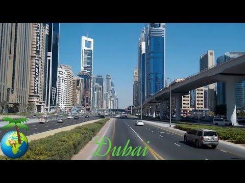 Dubai, My tour of the famous city , 4K