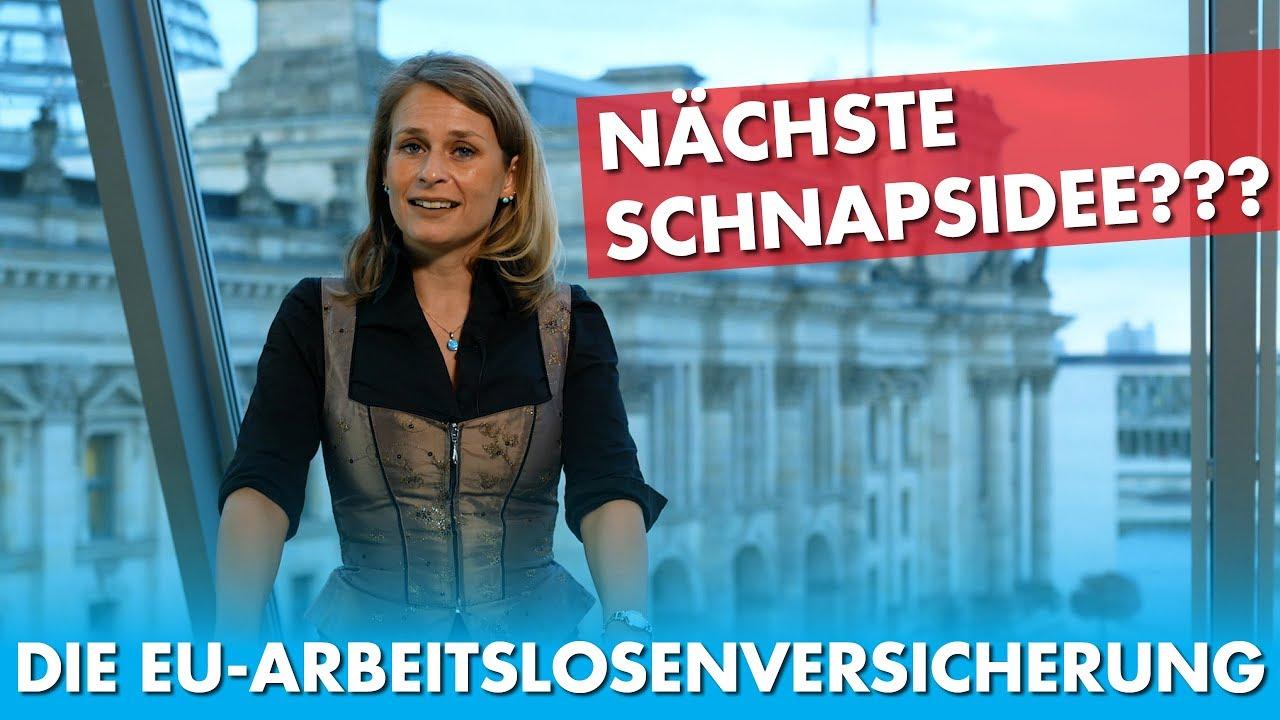 Merkel, Macron & Juncker: EU-Arbeitslosenrückversicherung. Die nächste SCHNAPSIDEE?