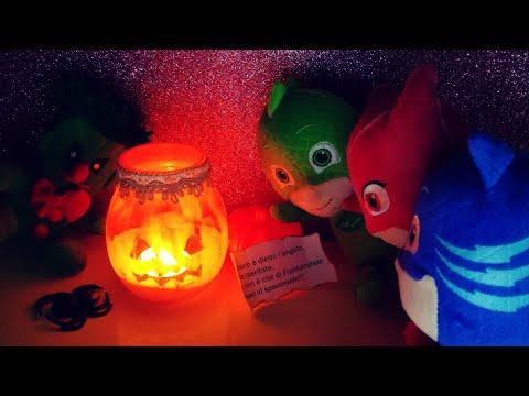 La Caccia al Tesoro di Halloween 🎃👻 con Geco, Gufetta e Gattoboy dei Pj Masks! [Video Educativo]