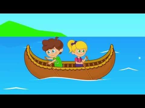 A Canoa Virou - desenho infantil com Os Amiguinhos
