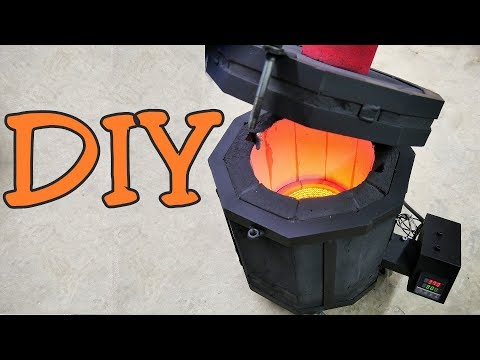 Making Electric Aluminum Foundry DIY