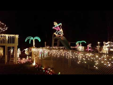 Christmas House Ruckersville, Va 2016