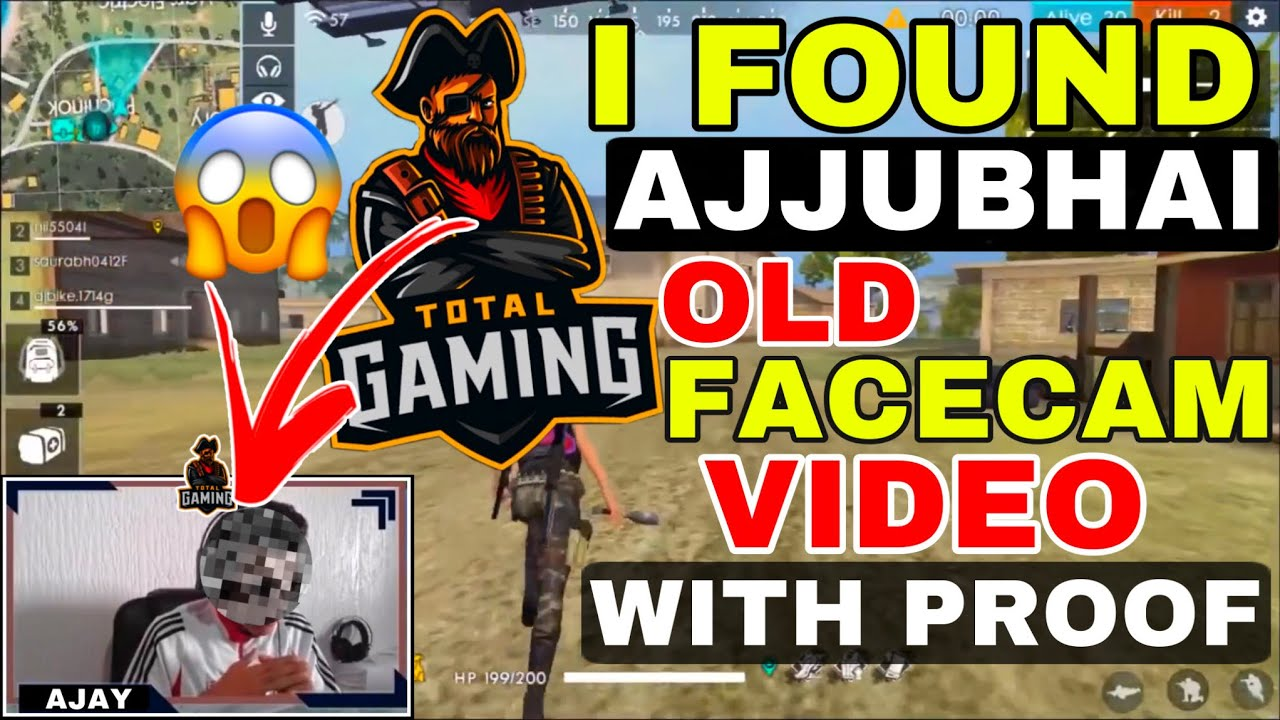 Download I Found Ajjubhai Old Facecam Video   Total Gaming Face Reveal   Total Gaming Real Face   Ajjubhai
