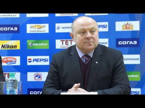 Пресс-конференция. Анатолий Емелин, Фёдор Канарейкин