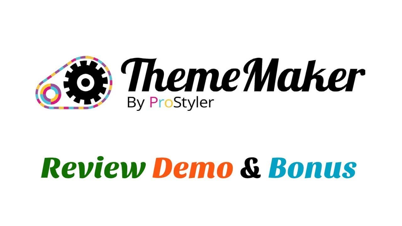 ThemeMaker Review Demo Bonus - Create and Sell Your Own Wordpress Themes No Coding Required