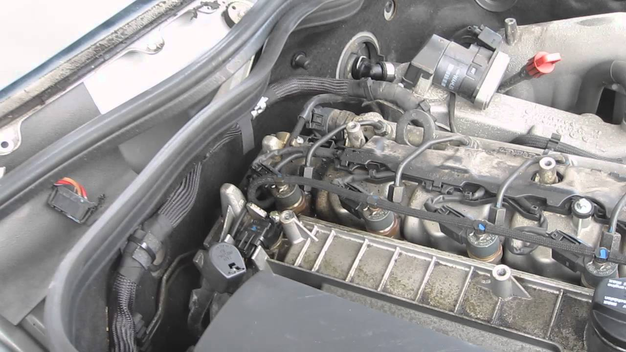 Mercedes CDi Injector Leak (Black Death)