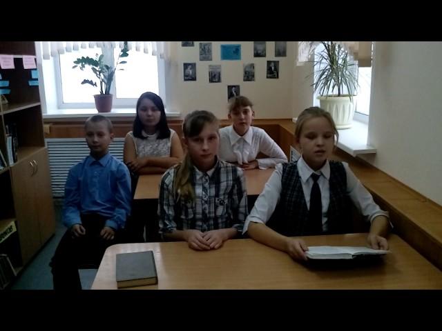 Изображение предпросмотра прочтения – «Ученики Пригородной СОШ» читают произведение «Зимнее утро» А.С.Пушкина