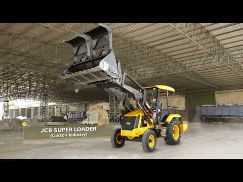 JCB Super Loader @ Cotton Industry, Hyderabad
