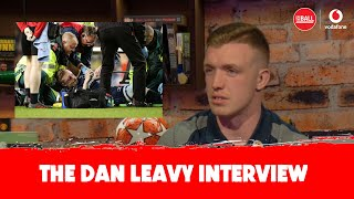Dan Leavy on his injury and the pain of missing out on the World Cup