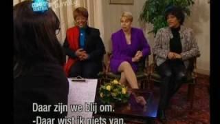 Ushi en van Dijk - Ushi interview: The Three Degrees.