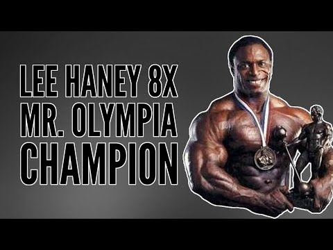 Lee Haney 8x Mr. Olympia Champion 1984 to 1991 Highlights