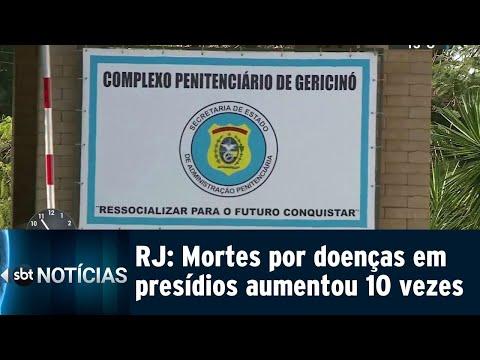 Número de presos mortos por doenças aumentou 10 vezes em vinte anos | SBT Notícias (09/08/18)