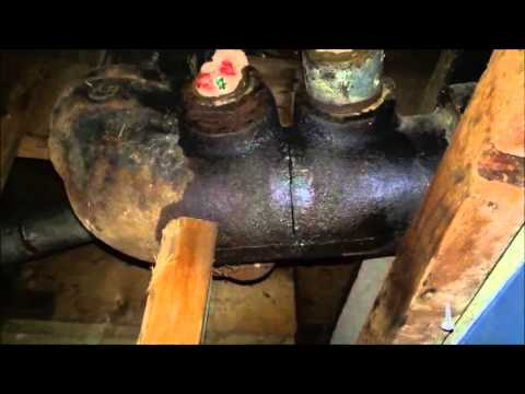 Replace Or Join Cast Iron Drain Pipe With Abs Or Pvc Youtube