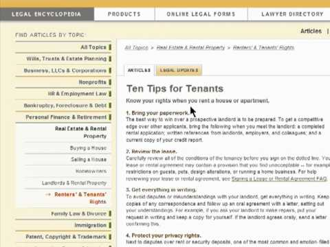 Knowing your rights as a tenant