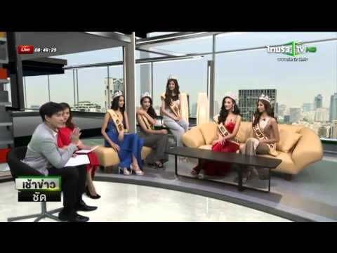 เช้าข่าวชัด ช่วง Live Show Miss Grand Thailand 2014   ไทยรัฐทีวี