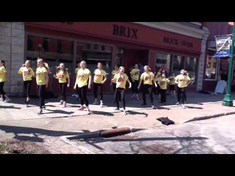 National Dance Week Flash Mob 2013 Cortland Performing Arts