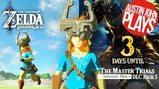 3 Days to DLC Pack 1: Midna's Helmet - Zelda Breath of the Wild Expansion Pass| Austin John Plays