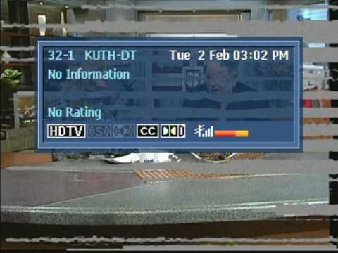 Salt Lake City TV Band Scan