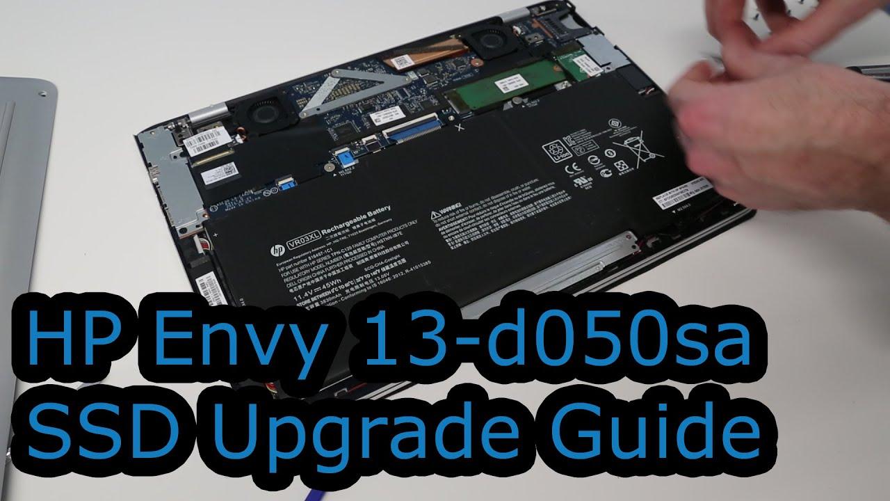 HP Envy 13-d050sa SSD Upgrade Guide