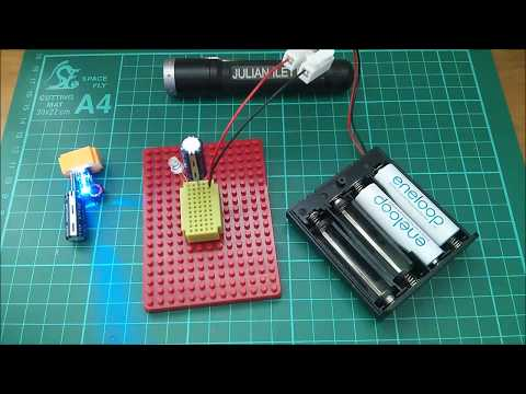 Quick and Dirty 2.5V Supercapacitor Charger