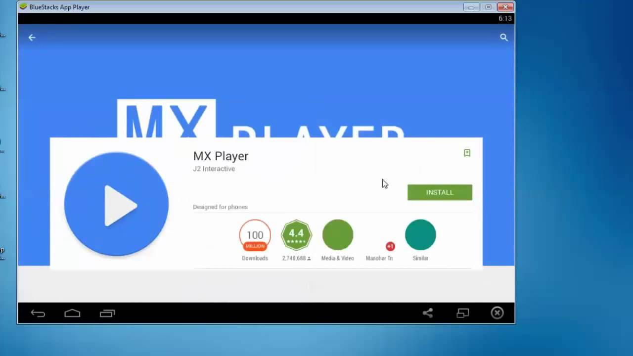 Download MX Player for PC Laptop Windows 7/8/8 1/10