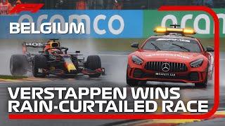 Verstappen Wins Rain-Curtailed Race   2021 Belgian Grand Prix