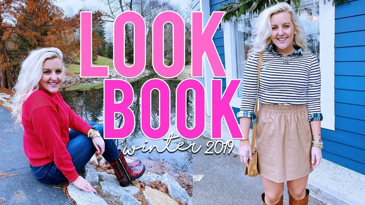 [VIDEO] - PREPPY OUTFIT IDEAS (PREPPY WINTER OUTFITS & HOW TO STYLE HUNTER BOOTS)   Kellyprepster 1