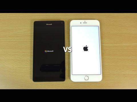 lumia 950 xl vs iphone 6s plus   speed amp camera test