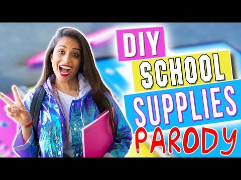DIY Back to School Supplies (PARODY)