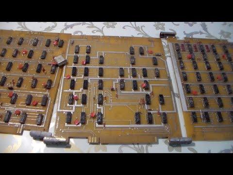 Золото из трёх КИП плат Микросхемы 155 серии