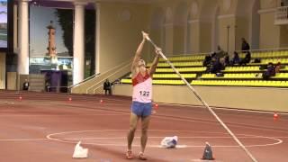 7-борье мужчины. Прыжок с шестом. Чемпионат и первенства по многоборью (06.01.2013).