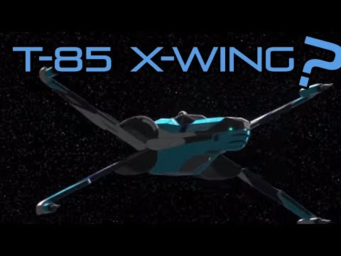 T-85 X-Wing Finally Revealed? - New Star Wars Ship thumbnail