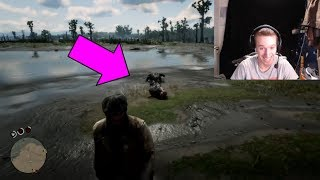 FEEDING ESCAPED CONVICT TO AN ALLIGATOR! Red Dead Redemption 2 FUNNY MOMENTS | RDR2 Xbox One X
