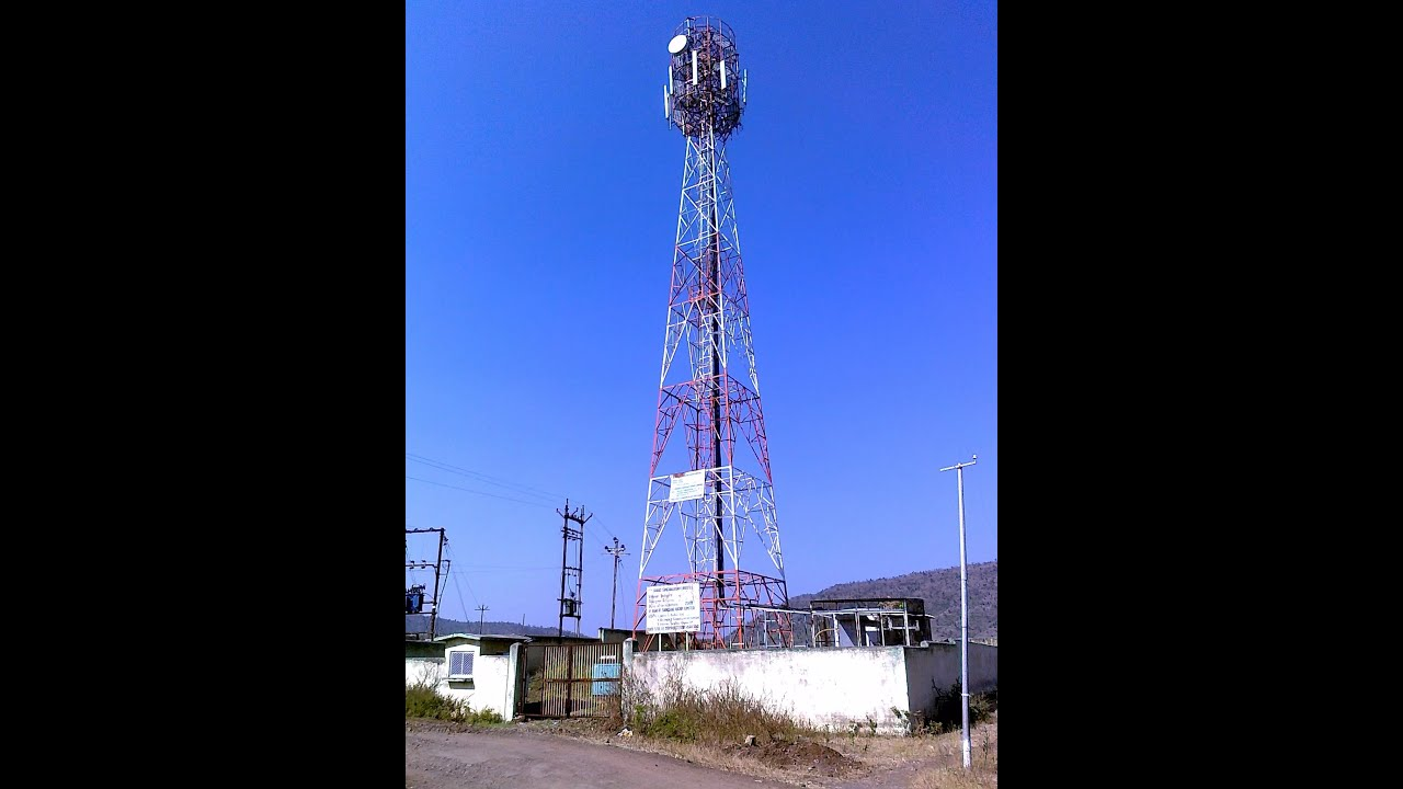 Cell Phone Tower Maintenance - How Cell Towers Work - YouTube