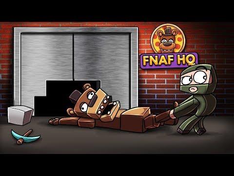 Minecraft  FNAF SIMULATOR  Who Stole Freddy? Five Nights at Freddys