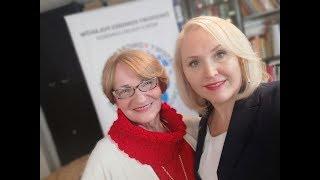 Lidia Bąk i dr Krystyna Krzekotowska - Inauguracja Światowej Akademii Prawa