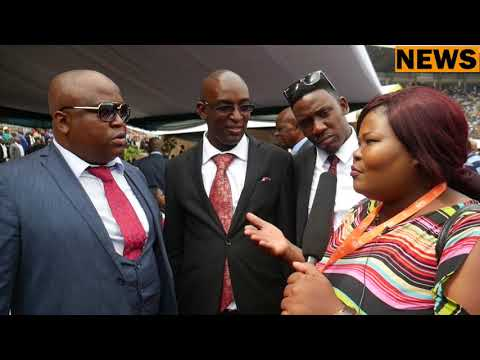 First Family interview with GONYETI at Presidential Inaugurations . (Emmerson Mnangagwa Family)
