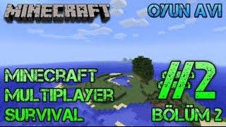 Minecraft Berkay İle Survival #2 Maden Arayışları!!!
