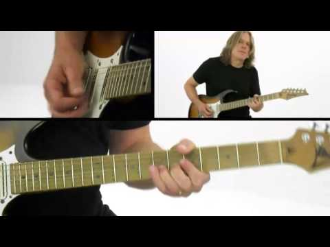 Andy Timmons Guitar Lesson - #17 Phrasing - Electric Expression