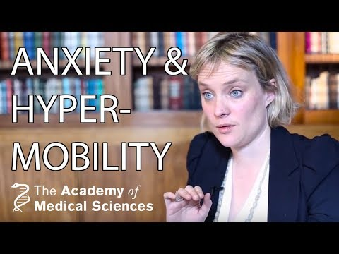 What is the link between joint hypermobility and anxiety? | Dr Jessica Eccles