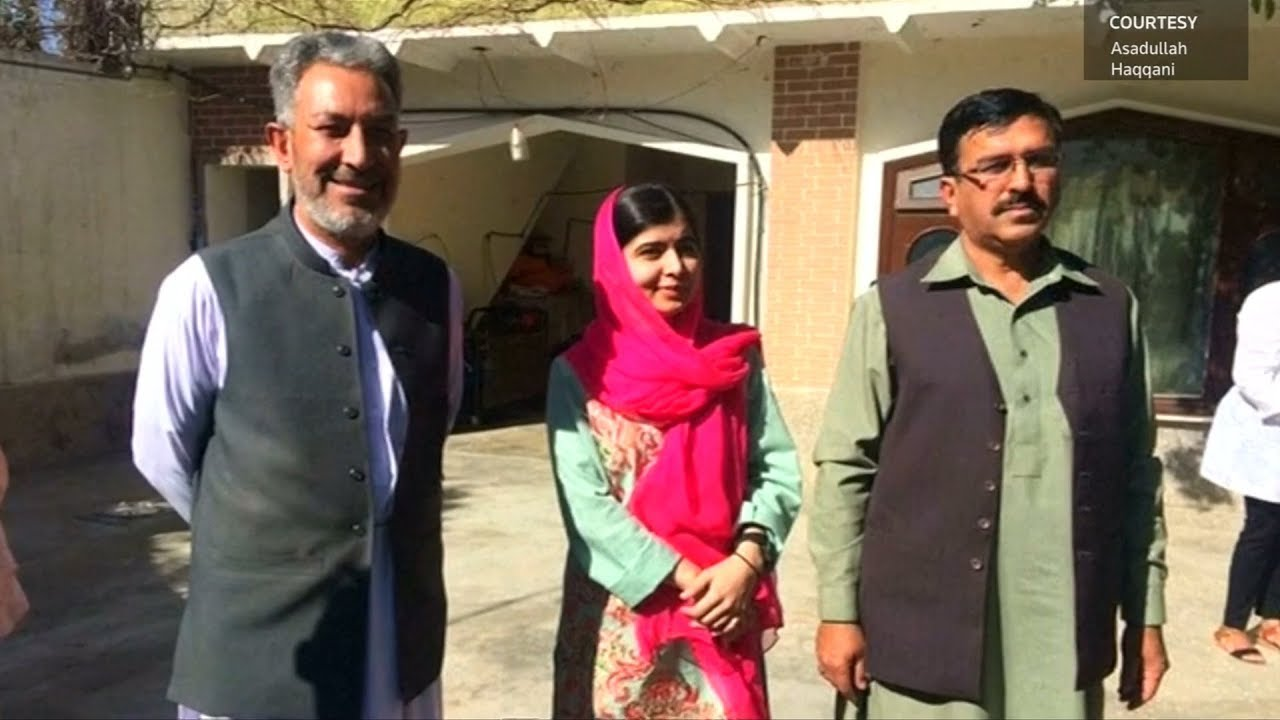 Malala makes emotional return to old home in Pakistan