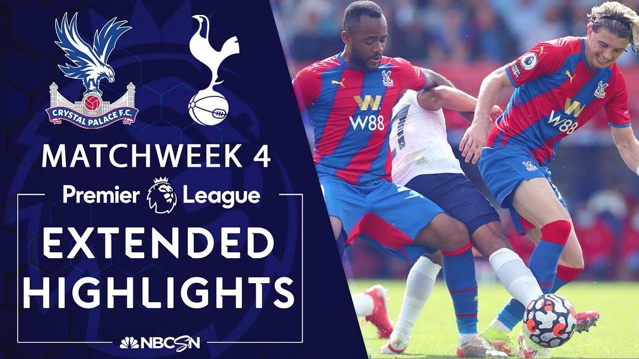 Crystal Palace v. Tottenham | PREMIER LEAGUE HIGHLIGHTS | 9/11/2021 | NBC Sports