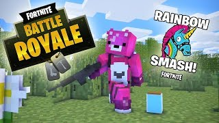 Fortnite Battle Royale - Minecraft Animation Compilation