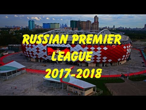 Russsian Premier League 2017-2018 Stadium