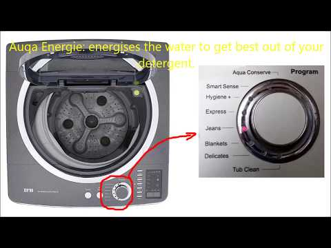 IFB fully automatic washing machine | Aqua Energie and Aqua Spa IFB washing machine