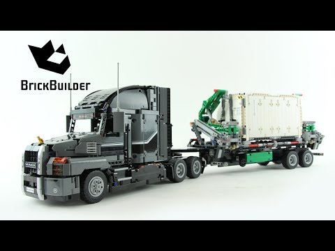 LEGO TECHNIC 42078 Mack Anthem Speed Build For Collecrors - Technic Collection (8/14)