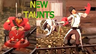 TF2: New Scream Fortress Halloween Taunts Victory Lap and Second Rate Sorcery 2016 >Team Fortress 2<