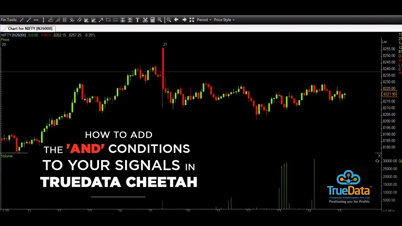 How to add the 'And' conditions to your Signals in TrueData Cheetah