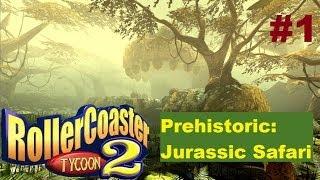 Rollercoaster Tycoon 2 | Prehistoric: Jurassic Safari | Part 1