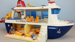 Playmobil Kreuzfahrtschiff 6978 auspacken seratus1 Neuheit 2016